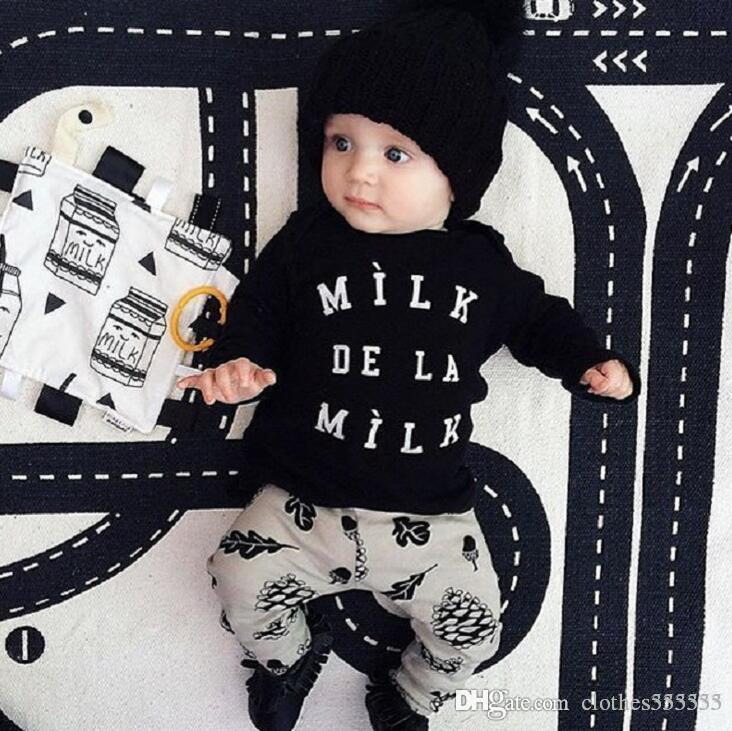 a3e6847936d6 New INS Summer Style Infant Clothes Baby Clothing Sets Boy Cotton ...