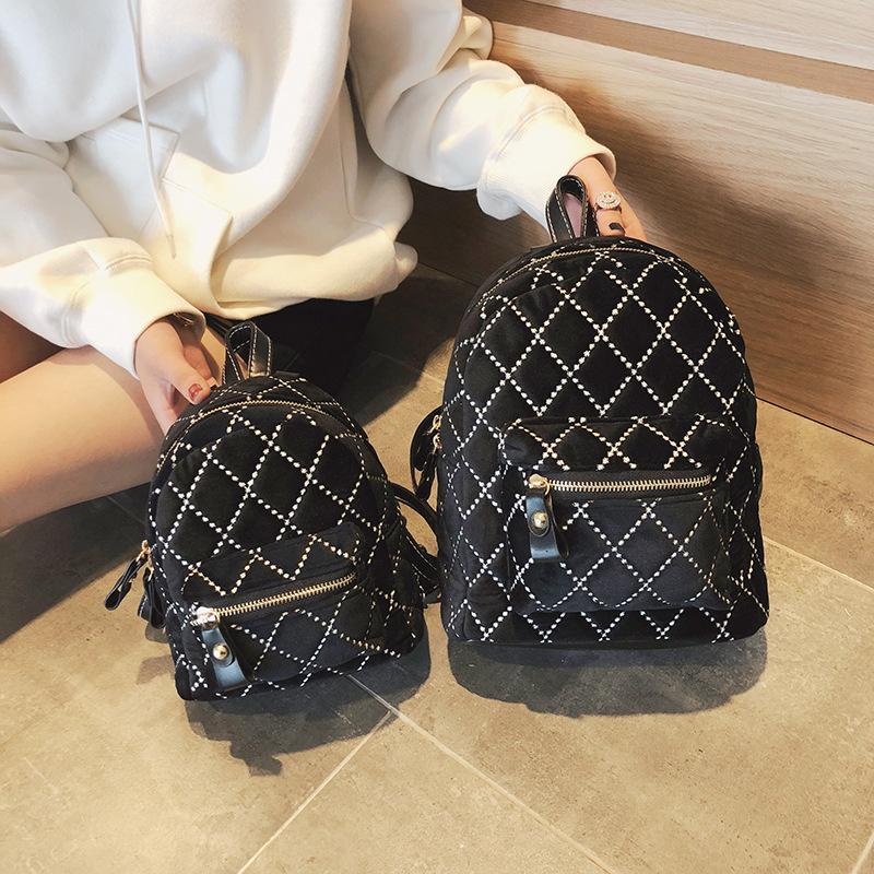13e5eceb33a6 New College Wind Mini Shoulder Bag High quality PU leather Fashion girl  small backpack female bag