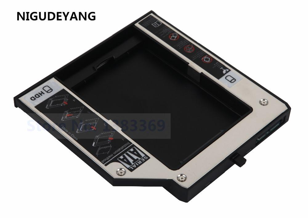 NIGUDEYANG For IBM Lenovo ThinkPad T420 T420i T430 T430i 2nd SSD HDD Hard  Drive Case Tray Frame Caddy
