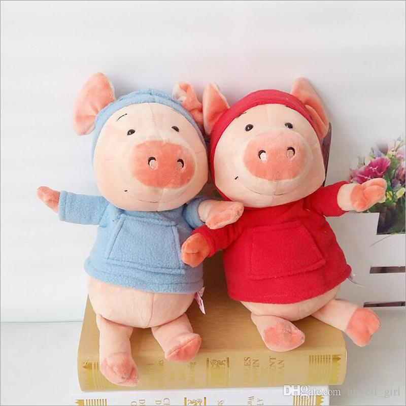 New Style Cute Lovers Pig Short Plush Toy Stuffed Animal Pigs Plush