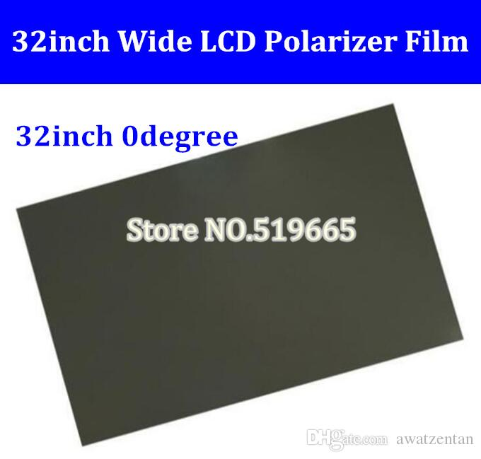 Новый 32-дюймовый 32-дюймовый 0 градусов Глянцевый 715 ММ * 410 ММ ЖК-Поляризатор Поляризационная Пленка для ЖК-LED IPS Экран для ТВ