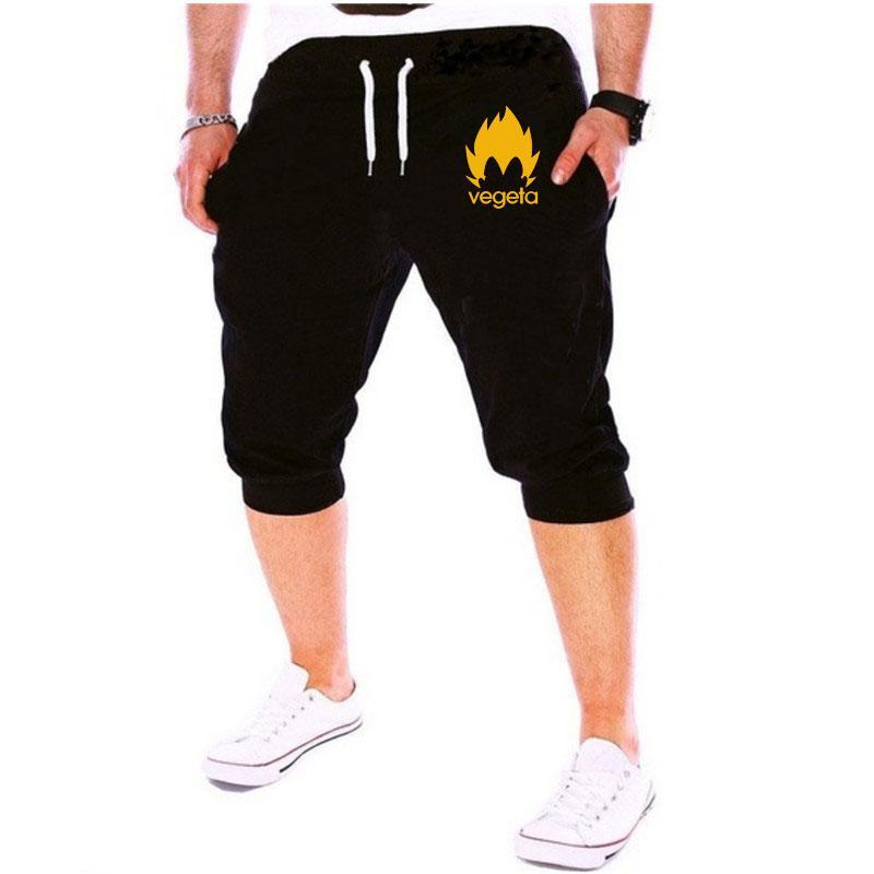 a92066b68b77 2019 2018 Summer Mens Jogger Shorts Casual Bermuda Dragonball Pattern  Compression Male Cargo Shorts Men Fashion Wukong M 3XL From Splendid99