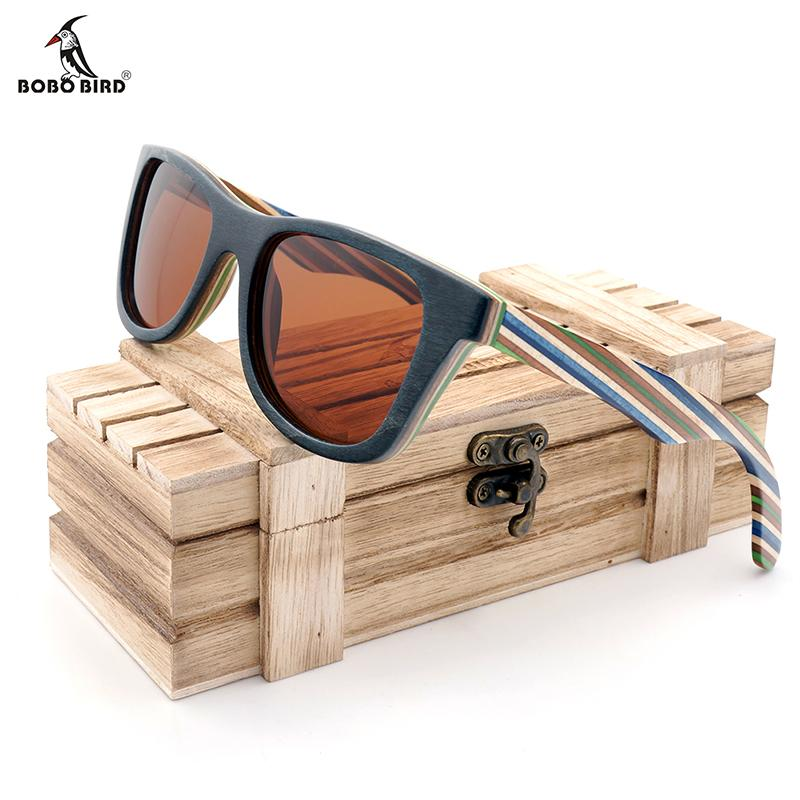 5693dcc3e2a Ood Sunglasses Men Bamboo BOBO BIRD Natural Wooden Sunglasses Men Bamboo  Sun Glasses Women Brand Designer Original Wood Glasses Oculos De.