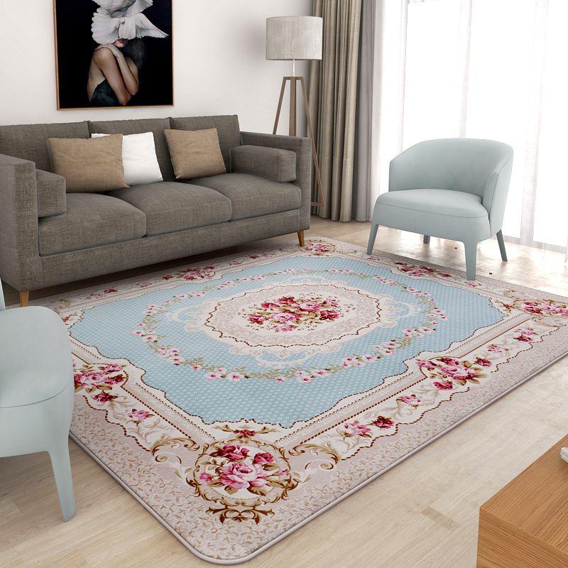 130x190 cm pastorale tappeti per soggiorno moderna camera da letto comodino  tappeti e moquette divano tavolino zona tappeto casa tappetino