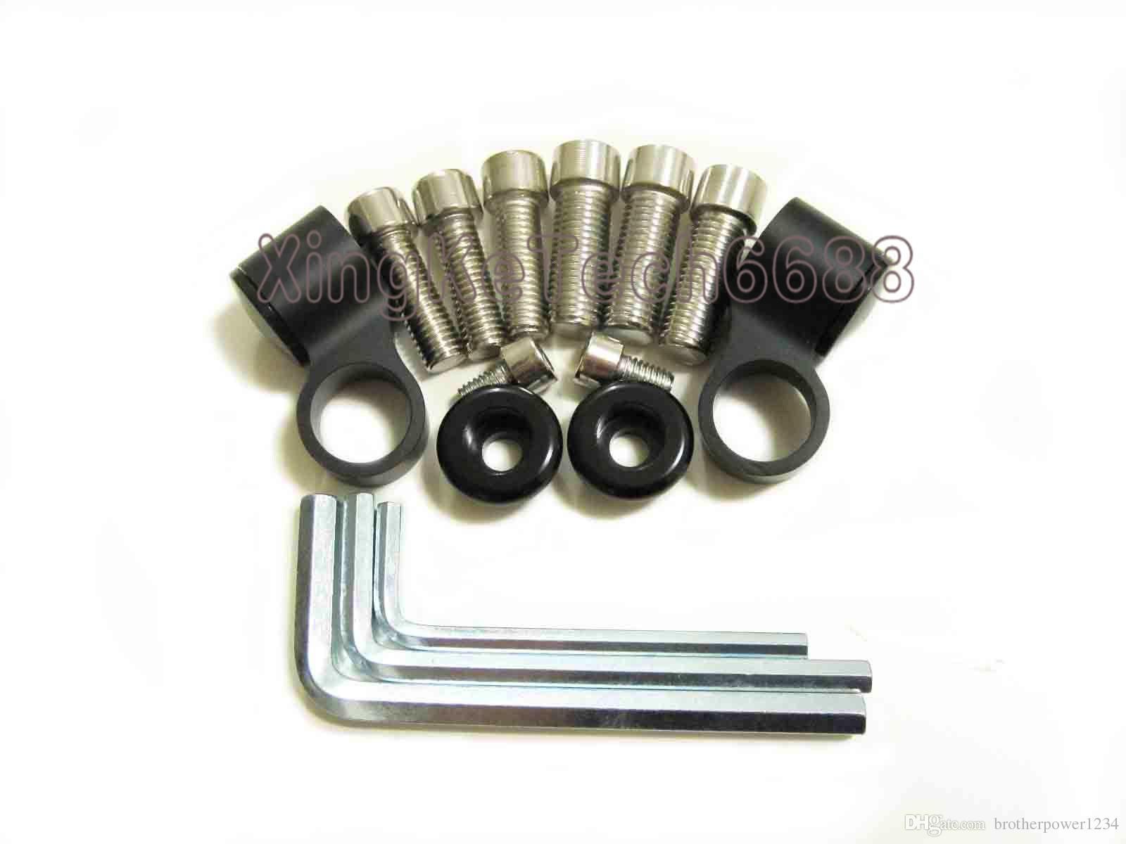 Espejo de motocicleta CNC 2X Espejo retrovisor estilo hacha Tomahawk universal