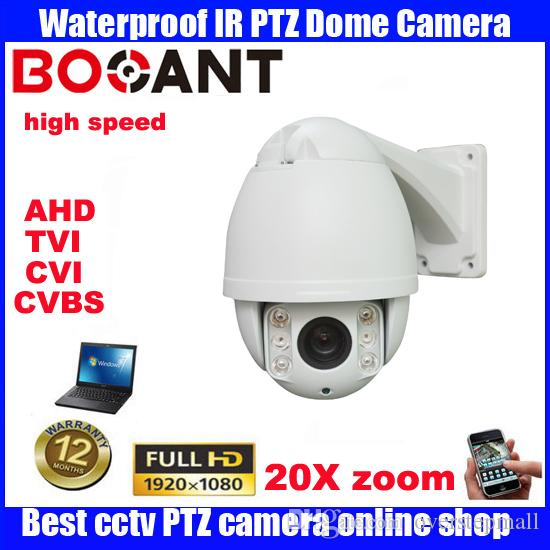 "4.5""4in1 HD 2MP waterproof Security outdoor mini Camera 20X ZOOM IR 50m HD PTZ Camera high Speed Dome Cameras"