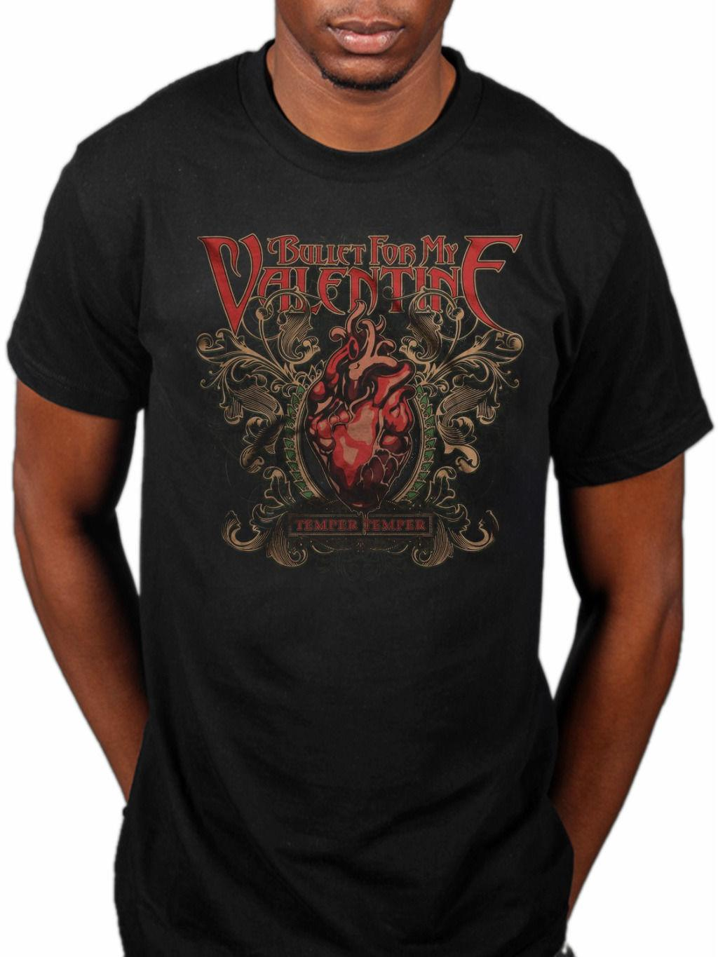 Bullet For My Valentine Temper Temper T Shirt New Band Merch