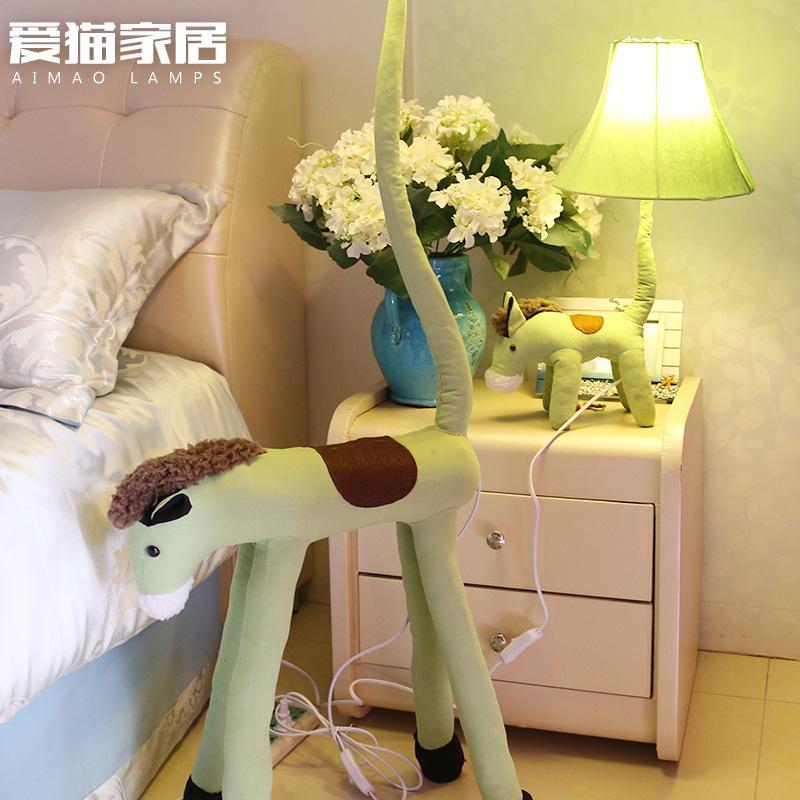 Großhandel Kinderzimmer Kreative Tuch Kunst Lampe Tier Modellierung ...
