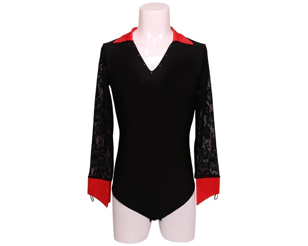 the latest 7945b 77731 T-shirt uomo latino-americano camicia standard nazionale servizio ragazzo  ragazzo abiti da ballo latino Y98