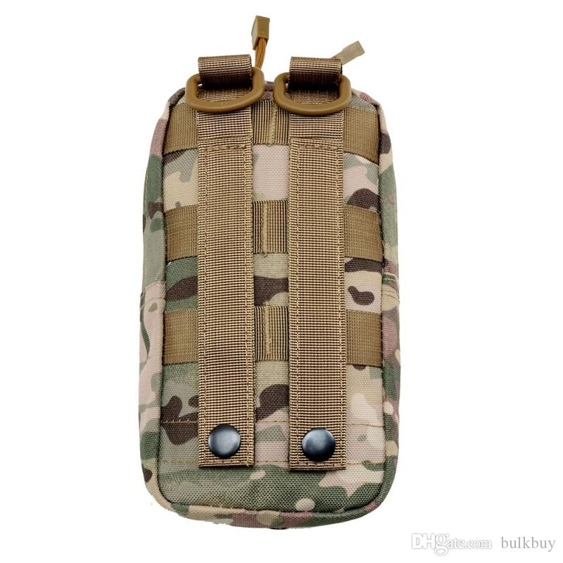 600D Outdoor Oxford Cloth Utility Tactical Pouch Bag Outdoor Military Vest Waist MOLLE Bag Gadget Hunting Wasit Pack Equipment