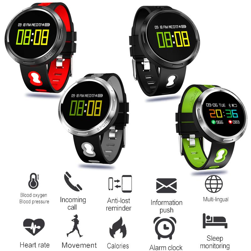 Bangwei Sport Watch Depth Ip68 Waterproof Smart Watch Blood Pressure Heart Rate Monitor Calorie Pedometer Information Reminder Numerous In Variety Digital Watches