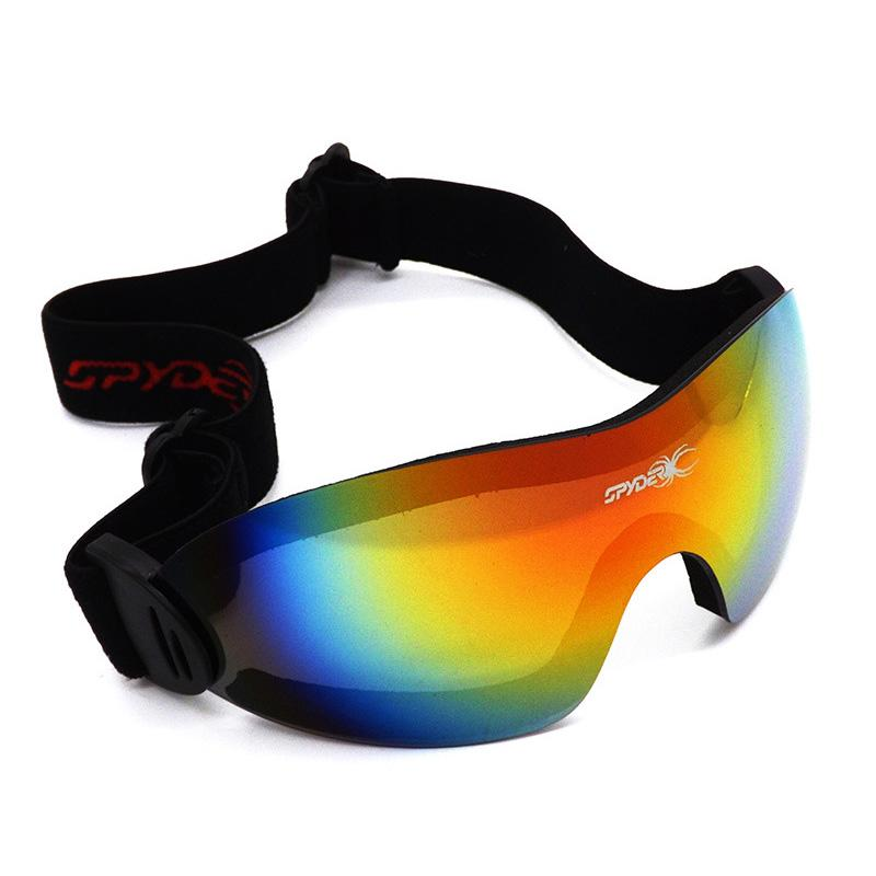0ee197c0760e 2019 New Outdoor Sports Ski Eyewear Snow Cycling Goggles Dustproof Anti Fog  Skiing Sunglasses Windproof UV400 Protection Brand Lens From Simmer