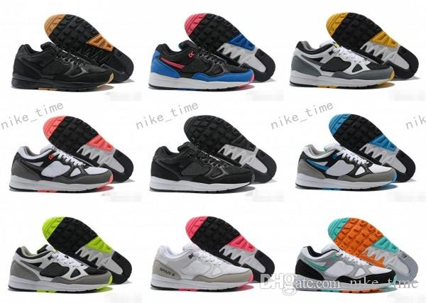 783cb54fdbdb 2018 Cheap Sale Span II 90 Mens Luxury Designer Casual Shoes For Good  Quality Black White Green Blue Men Women Jogging Sneakers Size 36 46 Winter  Running ...