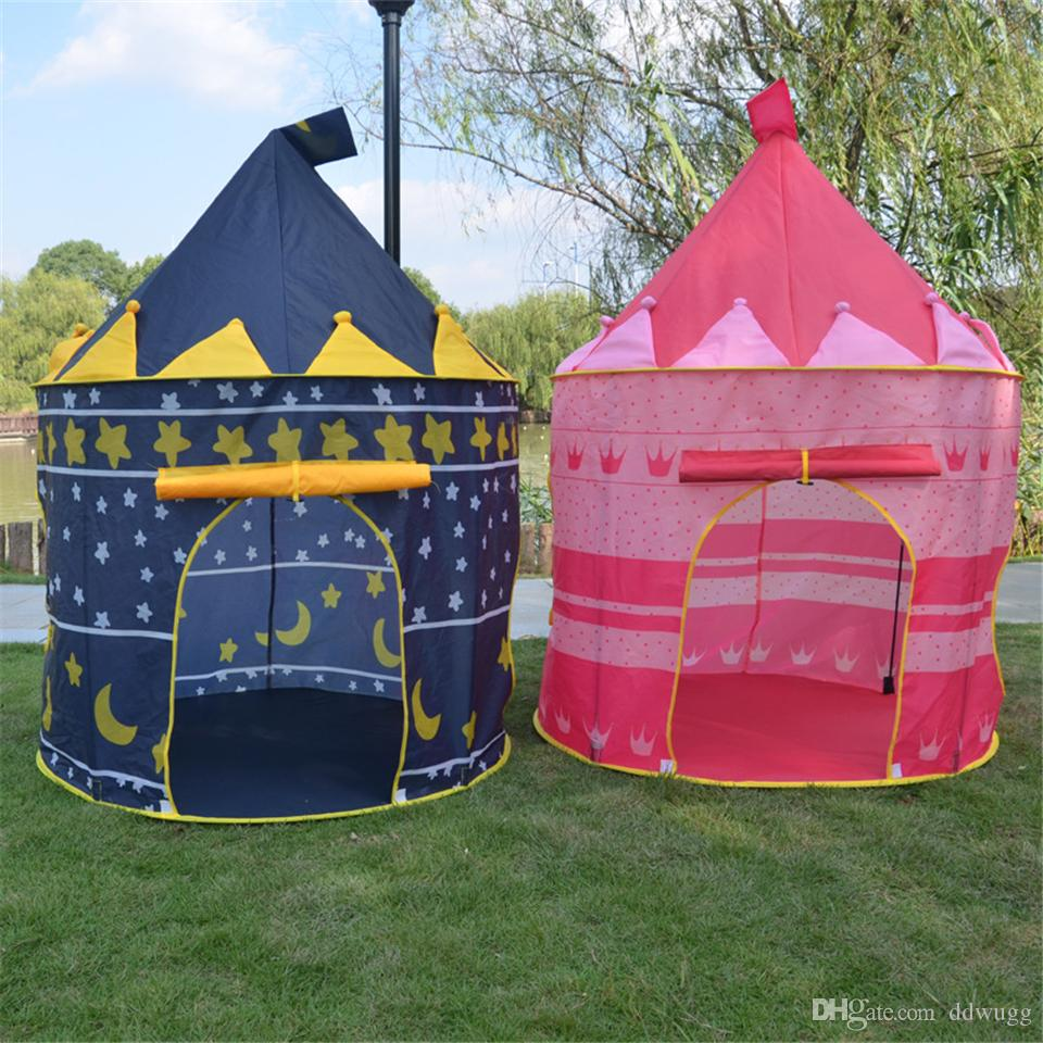 Kid Play Tents Tunnel Child Toys For Outdoors Crawl Activity Playhouses Baby Mat Tent Toy House Prince Yurt Princess Castle Boys Play Tents Ball Tent From ... & Kid Play Tents Tunnel Child Toys For Outdoors Crawl Activity ...