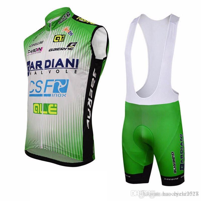 Ropa Deportiva Al Aire Libre ALE Ciclismo Jersey Sin Mangas Verano Hombres  Ropa Ciclismo Bicicleta De Montaña Use Camisas + Pantalones Cortos De  Babero ... 9d7b906d35119