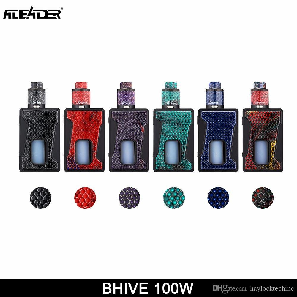 Authentic Aleader Bhive 100w Funky Squonk Resin Kit Tc Box Mod For Fuses Vape Original Bf Rda Atomizers Tank 100 Genuine Electronic Starter