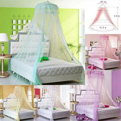 Elegant Lace Bed Mosquito Netting Mesh Canopy Princess Round Dome Bedding Net Mosquito Repellent For Kids Organic Mosquito Control From Douglass ... : mesh canopy - memphite.com
