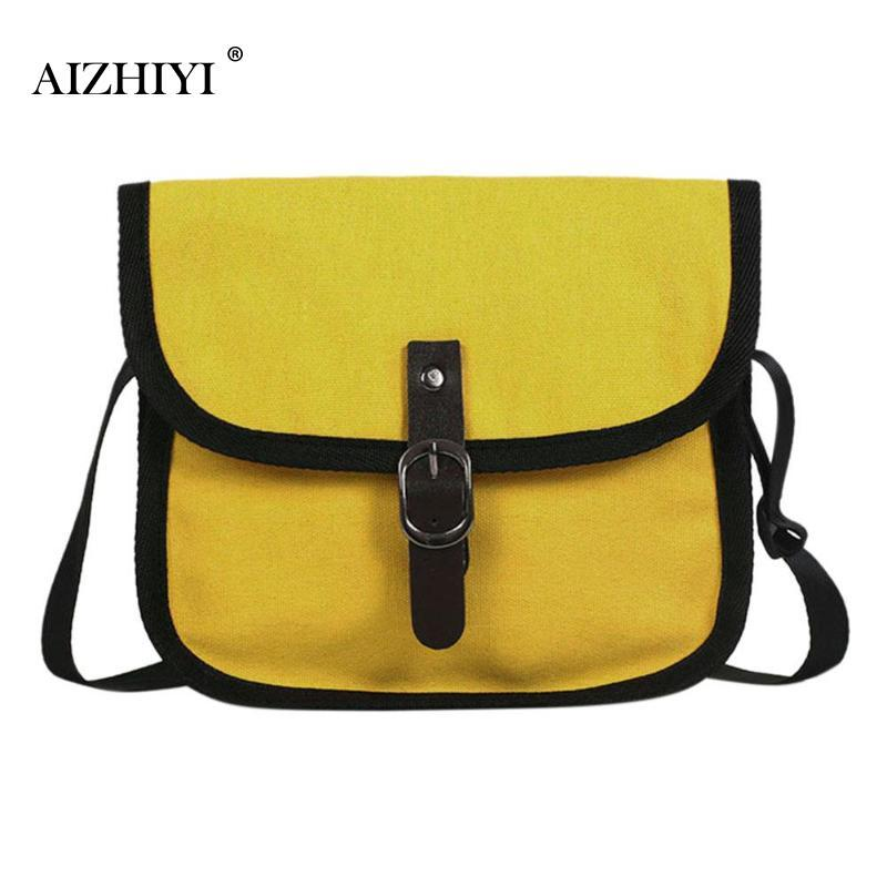 Women Girl Casual Small Canvas Messenger Square Shoulder Bag Small Clutch  Simple Crossbody Bags Shoulder Handbags Fashion Casual Western Purses  Leather ... aa77955ec6e27