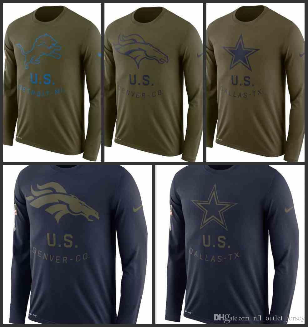 Dallas Cowboys Detroit Lions Denver Broncos Men Salute to Service Sideline  Legend Performance Long Sleeve T-Shirt Olive Online with  29.95 Piece on ... 8eb0b5c51