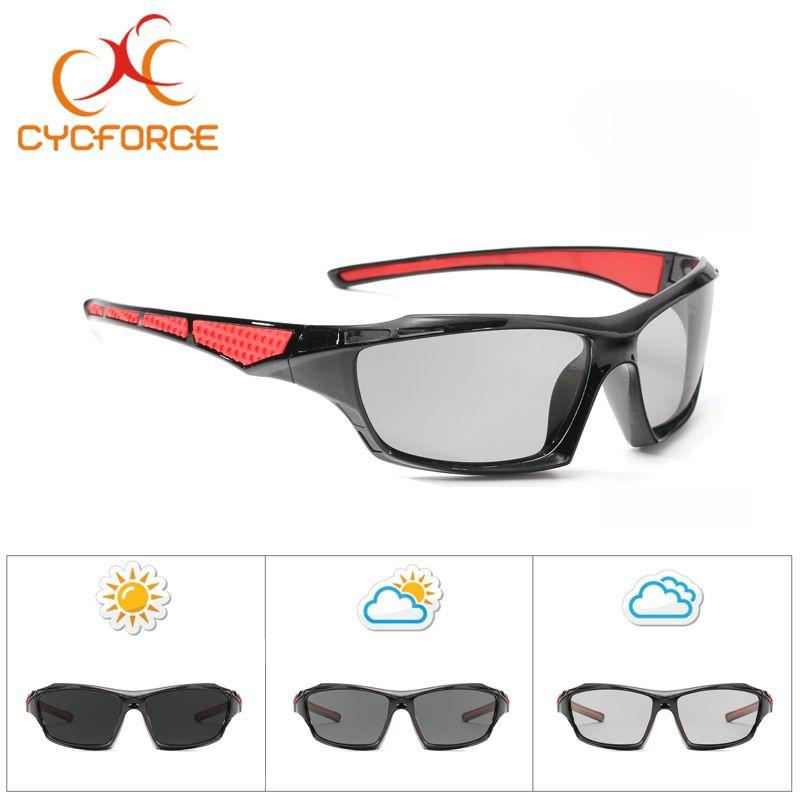 85ae960f0e3e 2019 CYCFORCE Photochromic Polarized Cycling Eyewear Men Road MTB Bike  Outdoor Sports Bicycle Goggles Sunglasses For Women Fishing From Towork