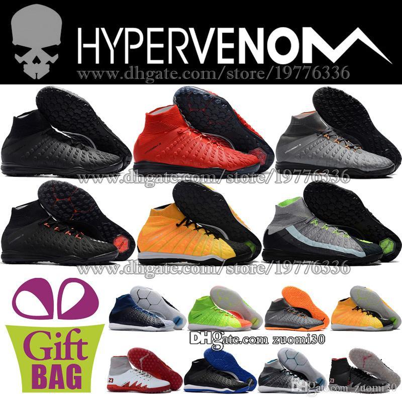 baae7ee1160 2019 HypervenomX Proximo II Football Boots TF Turf Soccer Shoes Indoor IC  Futsal Soccer Cleats Hypervenom Phantom II ACC Football Shoes Trainers From  ...