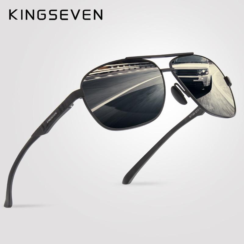 5b82dfec0d Acquista X Kingseven Fashion Polarized Sunglasses Men Retro Style Occhiali  Da Sole Famous Brand Designer Sports Vacation For Men A  20.93 Dal Ruiqi07  ...