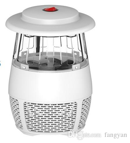 5W USB Electronic LED Mosquito Killer Light Mosquito Safety Mosquito Trap Insect Murder Lamp for Living Room Bedroom Kitchen Night Light