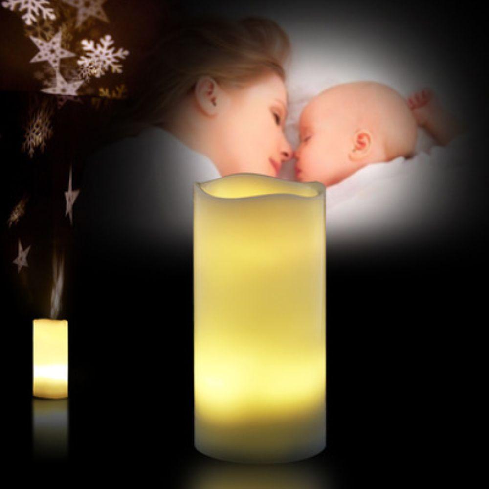 À Flamme Décoratives Bougies Projecteur Lampe Lumière Ensemble Piles Sans Bougie D Led Ambiance BdQrCxoWEe