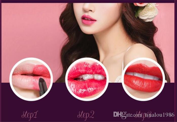 TAILAIMEI Lipstick 3.6g Makeup Retro Matte Gel Kiss Proof Lips Lip Gloss High-quality DHL
