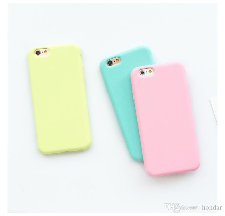 newest collection 0c679 2d787 2018 Hot Trending For iphone 10 case X 10 Solid Color Ultrathin Soft TPU  Cases Cute Candy Color Phone Case Back Cover