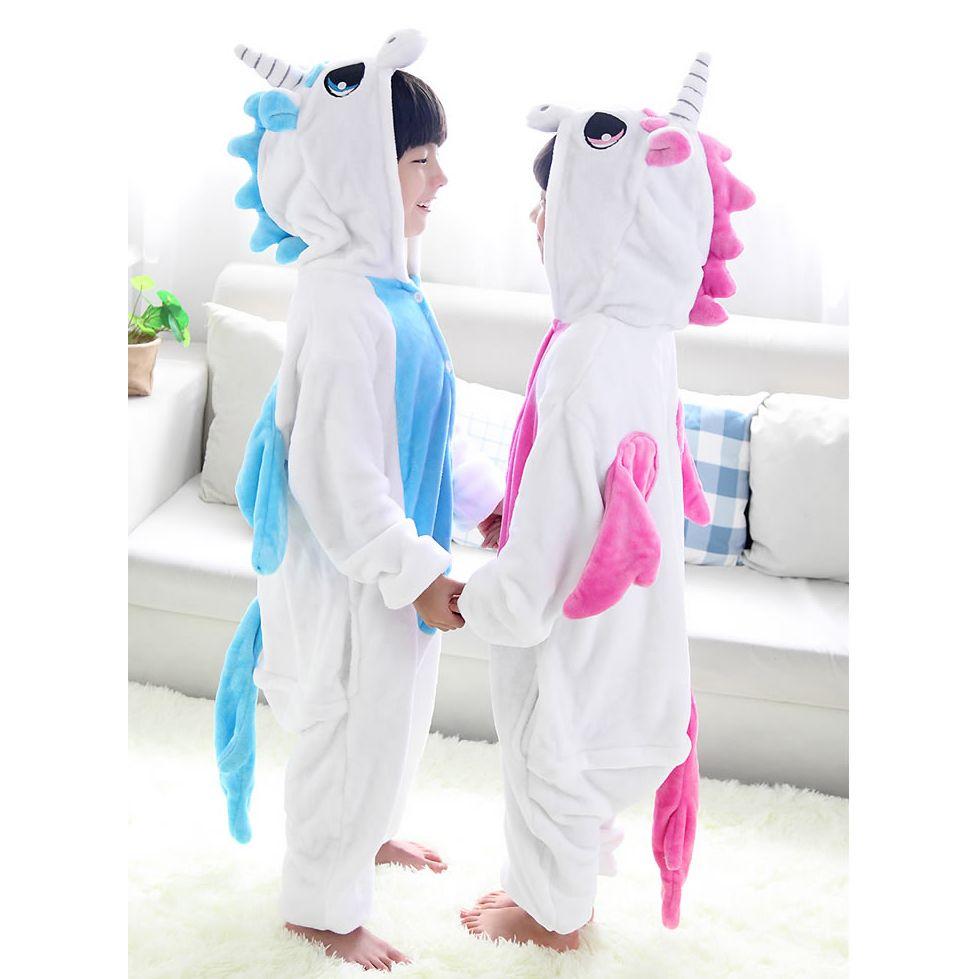 d12d37c91 Boys Girls Pajama Sets Cartoon Unicorn Sleepwear For 4 5 6 7 8 9 10 ...