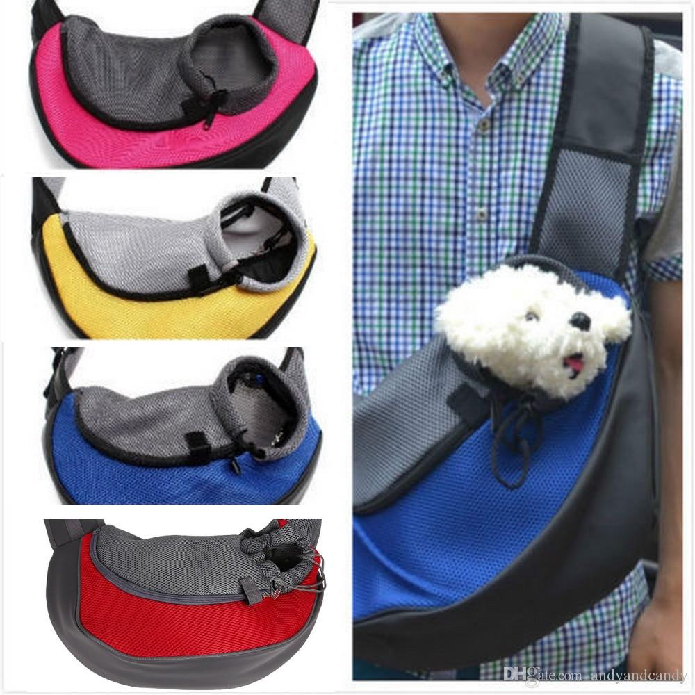 ada49dfa1b 2019 Pet Carrier Cat Puppy Small Animal Dog Carrier Backpack Mesh Sling  Front Mesh Travel Tote Shoulder Bag Backpack Small Dog Cats From  Andyandcandy, ...