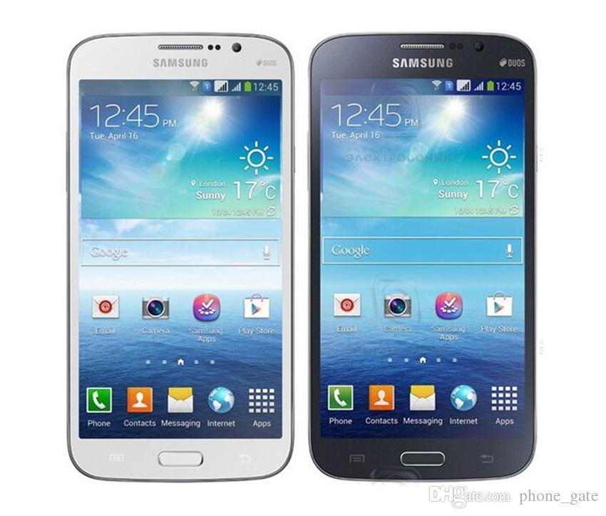 Desbloqueado Reacondicionado Samsung Galaxy Mega 5.8 pulgadas I9152 i9152 SmartPhone RAM 1.5GB ROM 8GB 8.0MP WIFI GPS Bluetooth 3G 2G teléfono celular