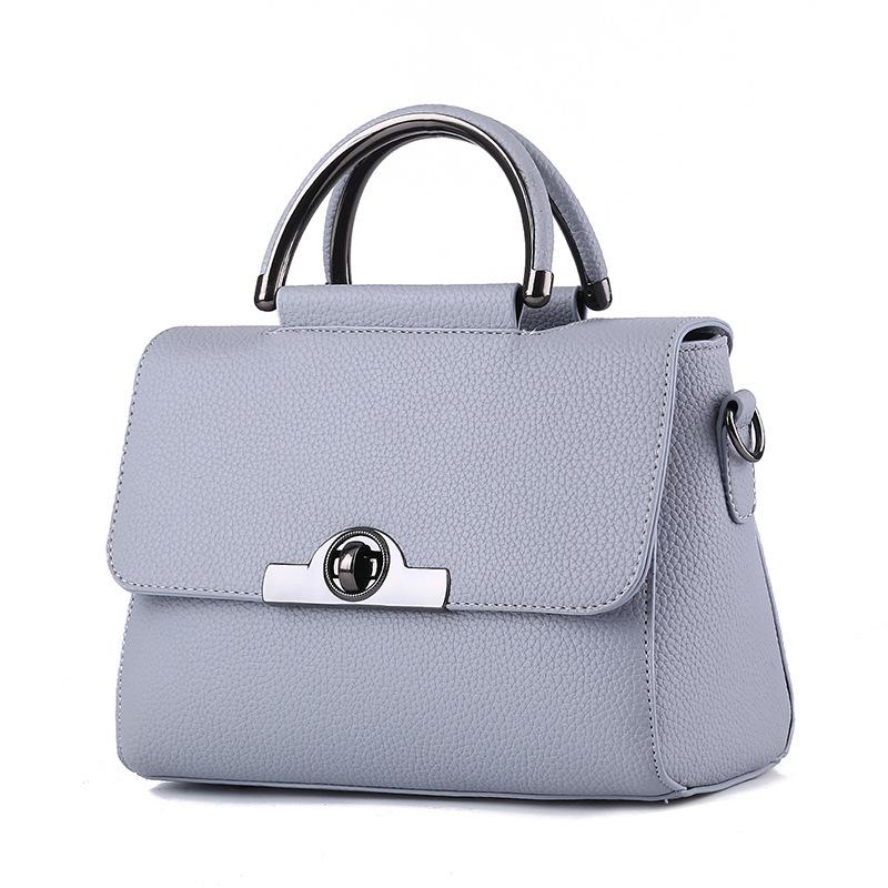 New Fashion Women Handbag High Quality PU Leather Female Totes Lady ... fedf6ab8a0fa9