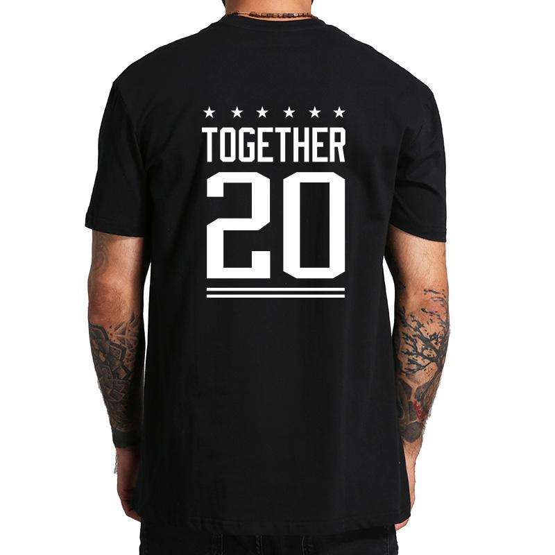 07 Since Unisex Paar T 20 Back Print shirt Together Number srxCQthd