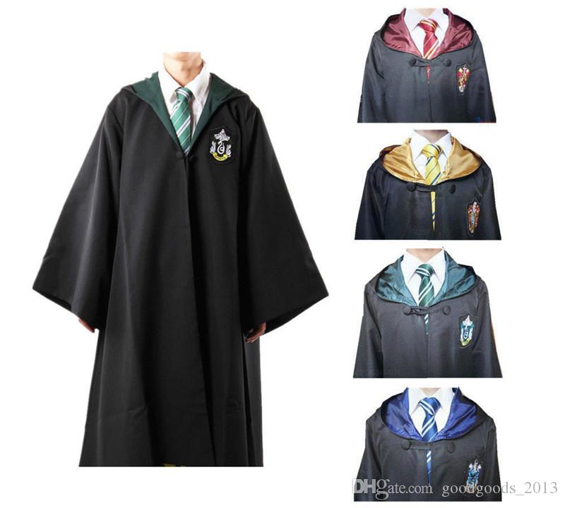 Nouveau Harry Potter Robe Gryffondor Cosplay Costume Enfants Adulte Harry Potter Robe Cape Halloween Costumes Pour Enfants Adulte z225