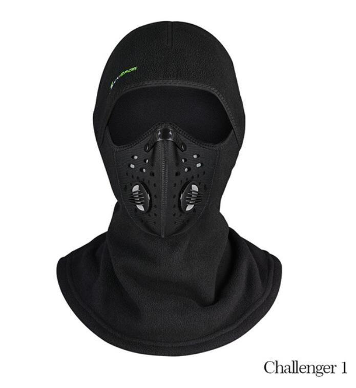 Winter Cycling Cap Fleece Thermal Keep Warm Windproof Face Mask ... 47279fced519
