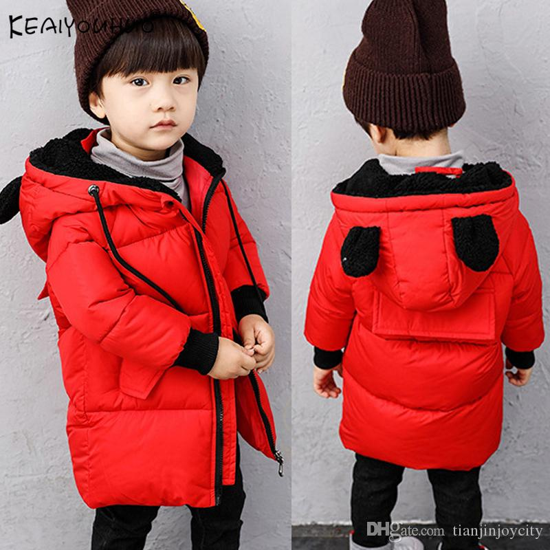 3d20e8665 2018 Boys Jackets Winter Cotton Baby Boy Jacket For Toddler Coats ...