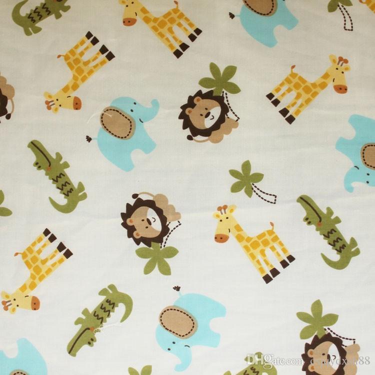 Fashion Baby boy bedding set Pure cotton 3Dembroidery lion elephant giraffe and crocodile selling fashion Crib bedding set