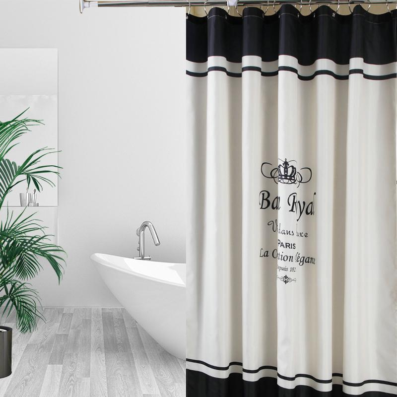 2019 Shower Curtain Waterproof Polyester Fabric Bath Set Mildew Resistant Home Bathroom Decor With 12 Hooks From Lifegreen 2375