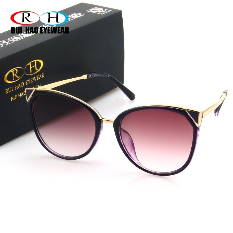 8e1db58d26 Wholesale Brand Cat Eye Sunglasses Women UV Goggle Fashion Sun Glasses  Women Eyewear Eyeglasses Online with  40.19 Piece on Mingring002 s Store