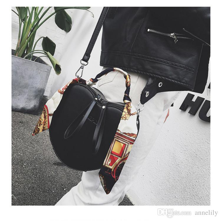 Borse a tracolla a forma di cuore di trasporto libero le ragazze Cuoio cuoio Totes Borsa donna Crossbody moda popolare individualità Hangbags Ladies