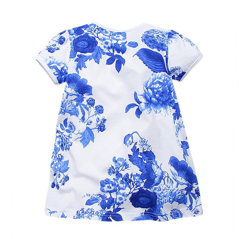 Vidmid fiori ragazze abiti bambino abbigliamento bambini bambino di marca vestiti bambini ragazze manica corta moda vintage