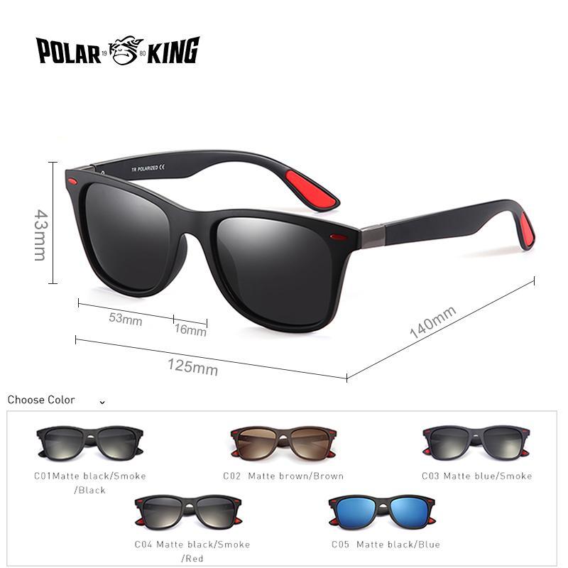 b631ebed7f6 POLARKING Brand Men S Fashion Polarized Sunglasses For Driving Plastic UV  Protection Eyewear Designer Travel Sun Glasses Polarized Sunglasses  Sunglasses For ...