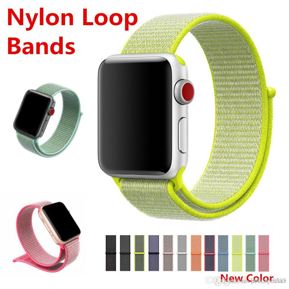new color in stock sport loop for apple watch band 42 38mm for
