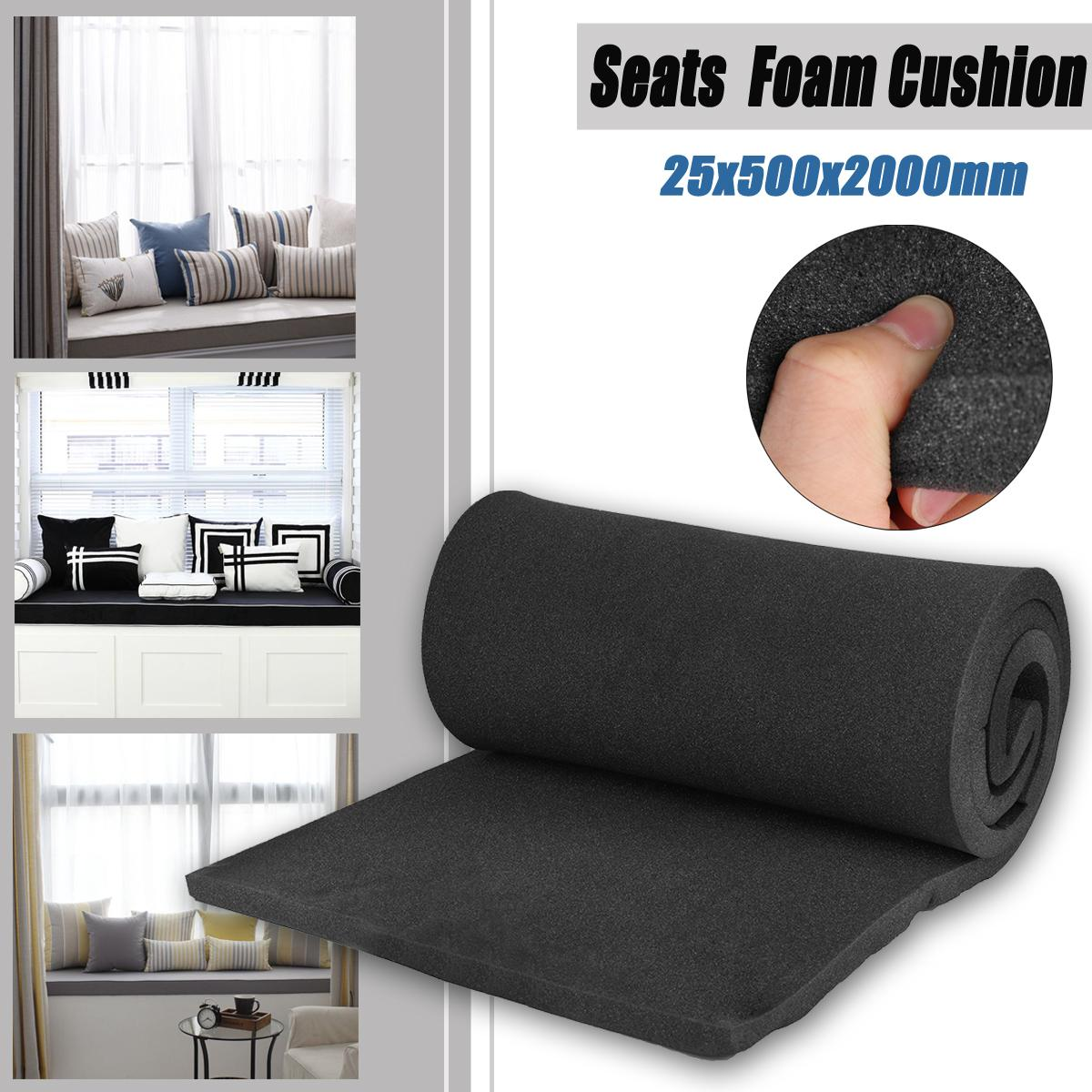 Gentil Kiwarm High Density Seat Foam Rubber Replacement Upholstery Cushion Pad  Length 2000x50x25mm Two Color Large Patio Cushions Porch Chair Cushions  From ...