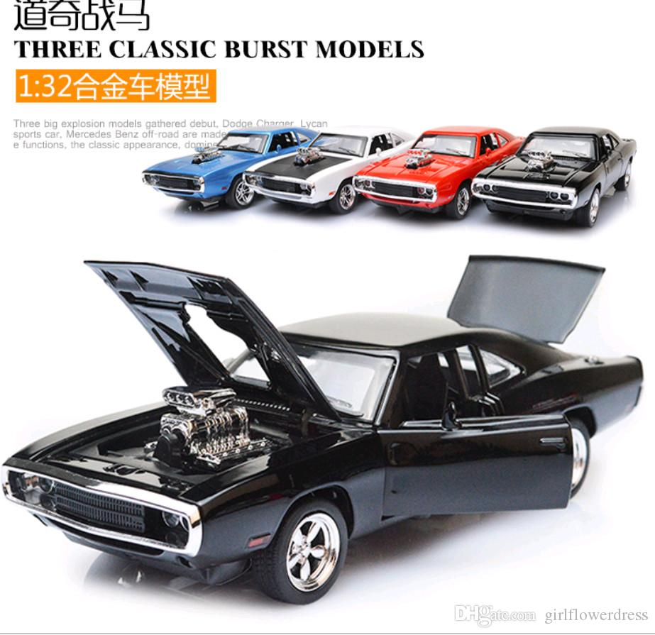Movie Speed And Passion 7 Dodge War Horse Pull Back Alloy Car Model