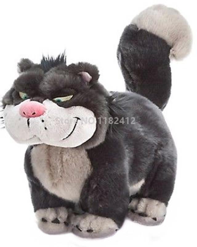 2019 Cute Princess Cinderella Lucifer Cat Plush Toy 30cm 12 Super