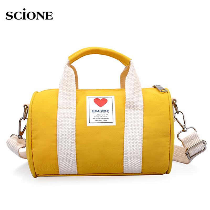 2019 Canvas Children Women S Travel Bags Yoga Gym Bag Mini For Fitness  Shoes Handbags Shoulder Crossbody Sac De Sport Pack XA571WA From Gqinglang