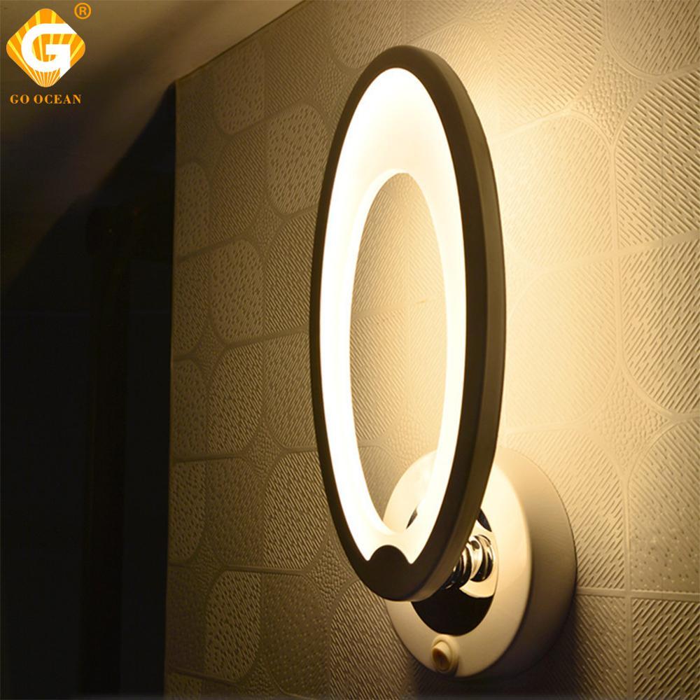 Acheter Mur Lumière LED Chambre Éclairage Décoration De La Maison Blanc  Moderne Simple Intérieur Cuisine Salle De Bains Salle À Manger Mur Lampes  Luminaire ...